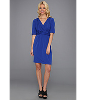 Ivy & Blu Maggy Boutique - 3/4 Sleeve Knot Front Dress