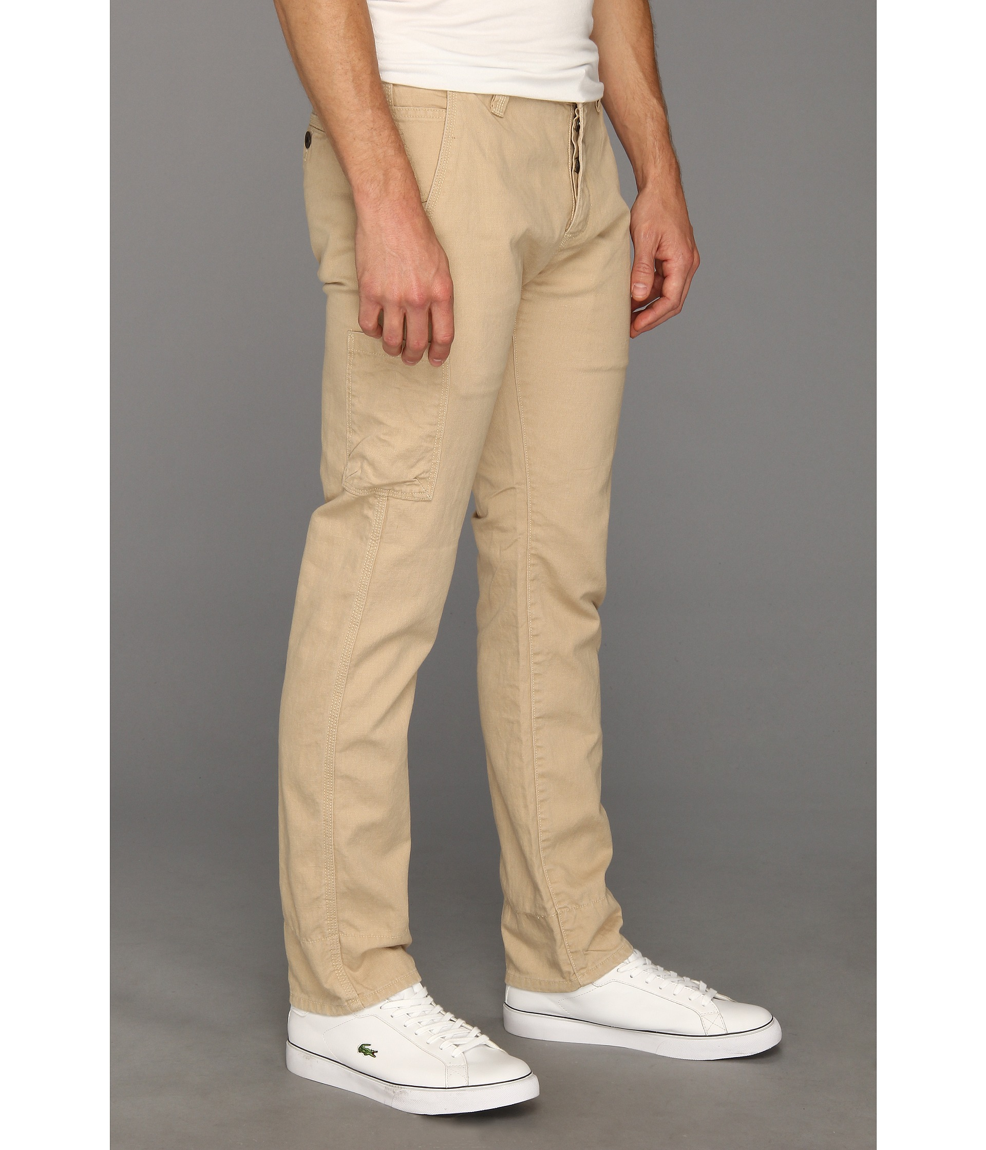 Dark Khaki Pants Men | Images Guru