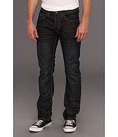 Buffalo David Bitton - Evan Slim Mercer Jean in Dark and Slighty Sanded