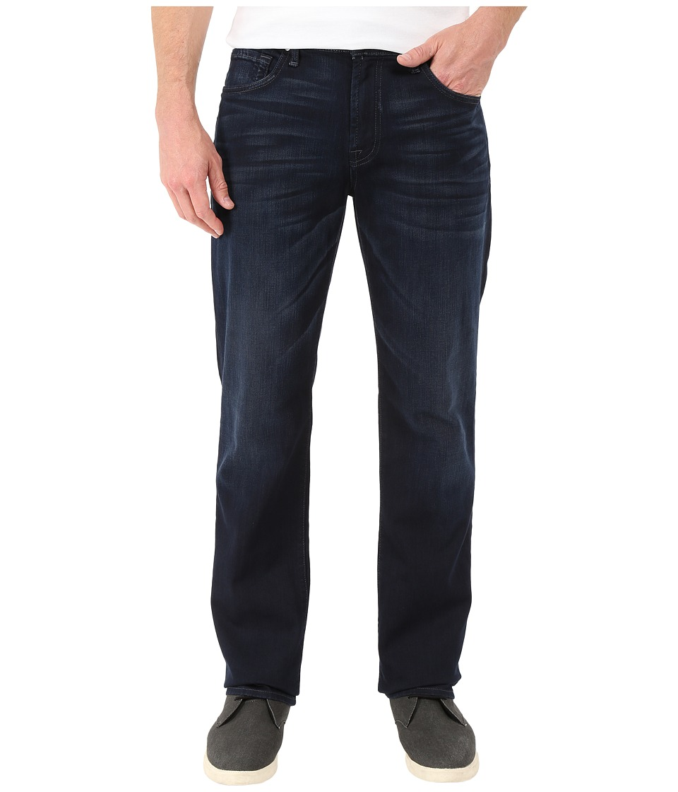 7 For All Mankind Luxe Performance Carsen Easy Straight in Blue Ice (Blue Ice) Men