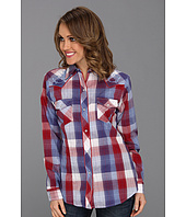 Roper - 8396 Red White And Blue Plaid