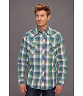 Roper - 8502 Blue Feather Plaid