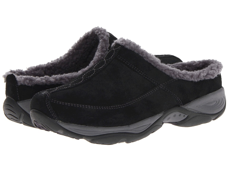 Easy Spirit - Exchange (Black/Dark Grey Suede) Women