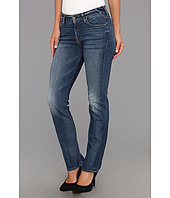 7 For All Mankind - Short Inseam Kimmie Straight Leg in Destroyed Rue De Lille