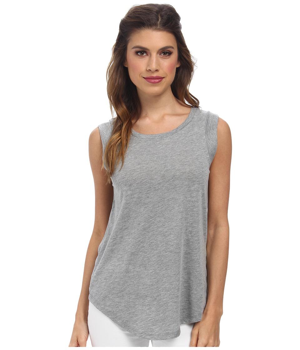 Alternative - Cap Sleeve Crew (Grey Heather) Womens T Shirt