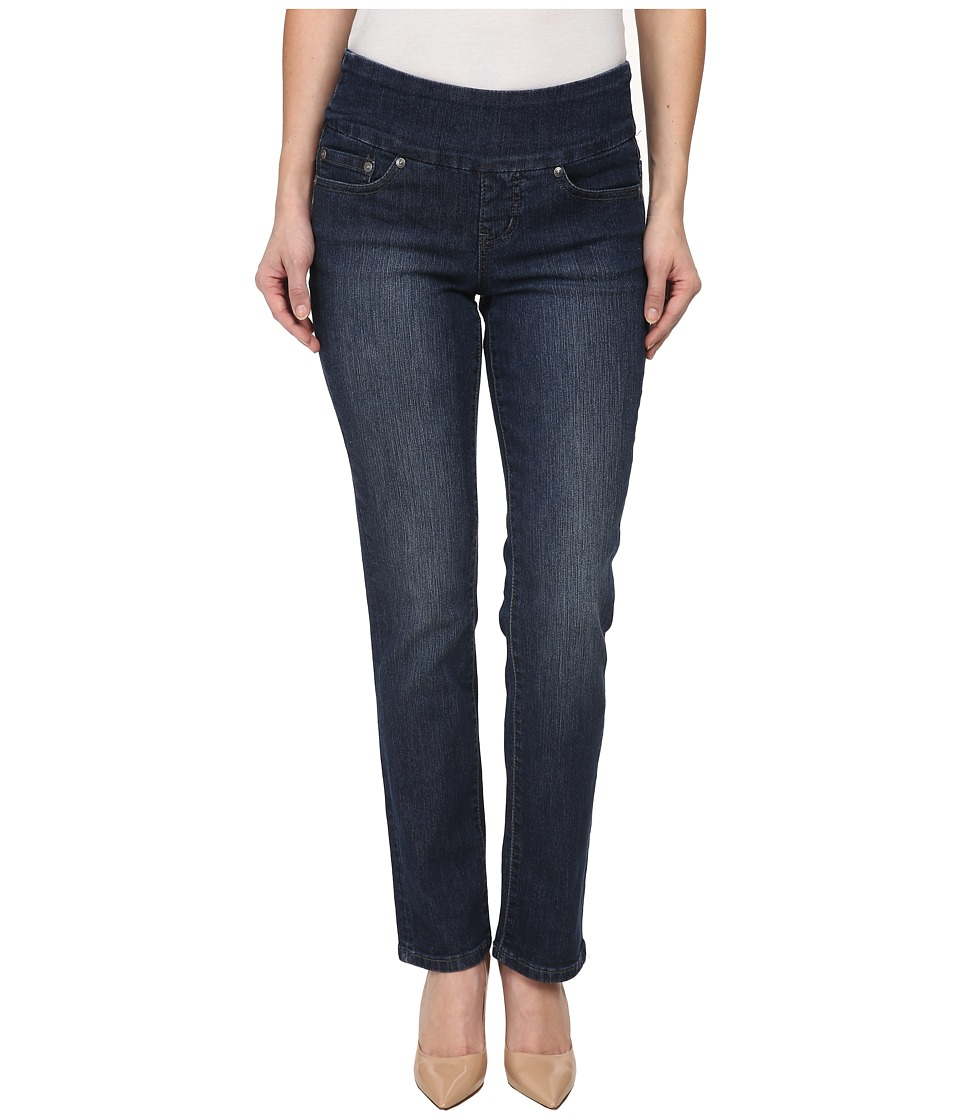Jag Jeans Petite - Petite Peri Pull-On Straight in Anchor Blue (Anchor Blue) Womens Jeans