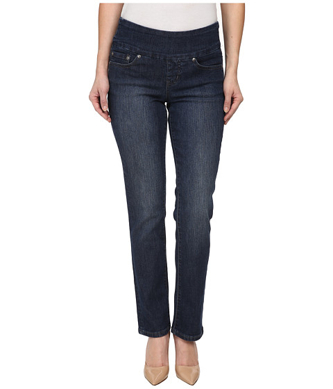 Jag Jeans Petite Petite Peri Pull-On Straight in Anchor Blue