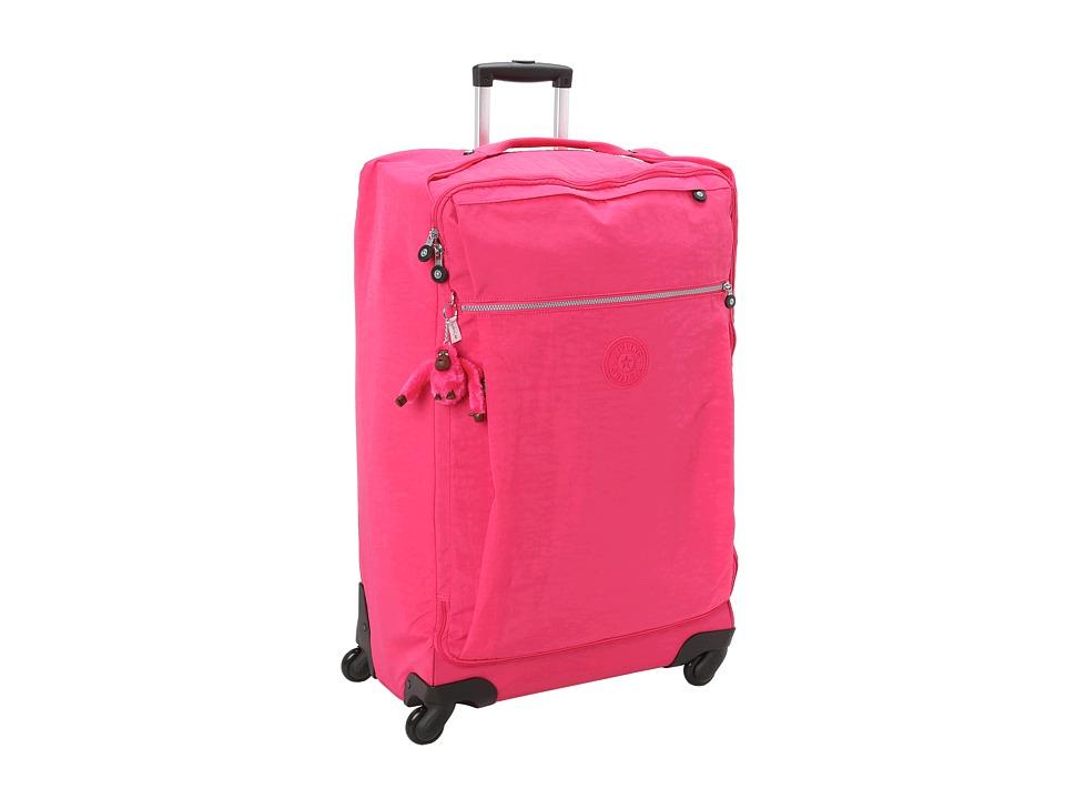 Kipling Darcey Large Wheeled Luggage Vibrant Pink Luggage
