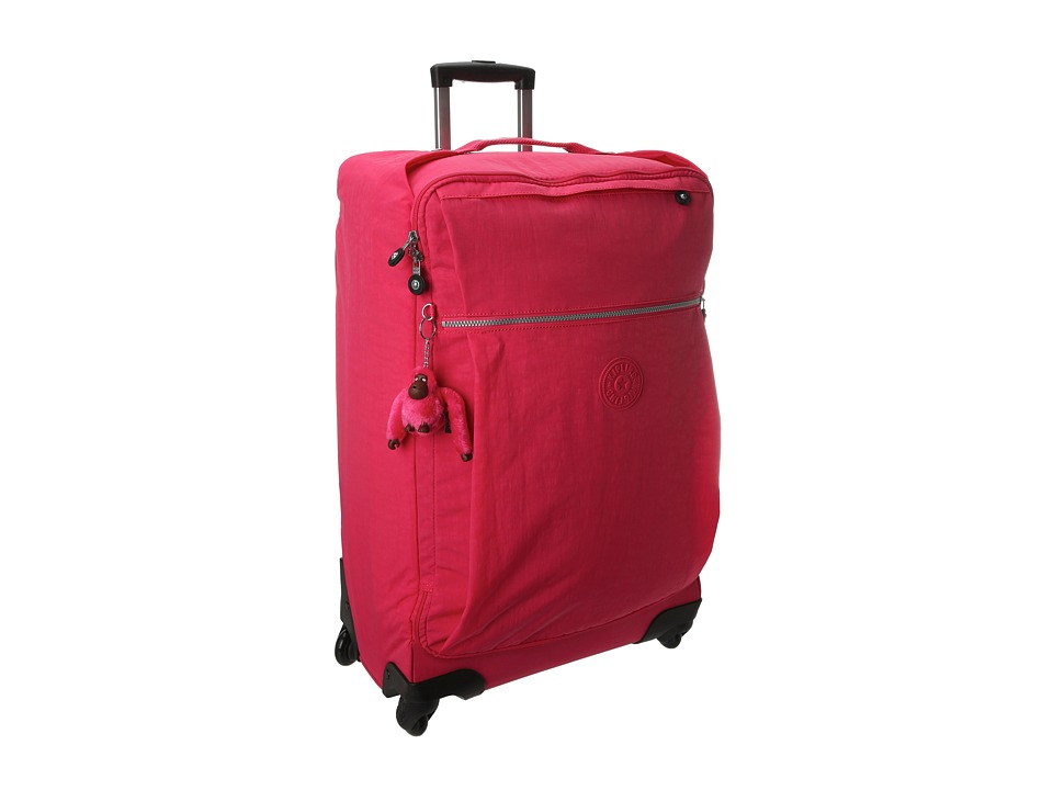 Kipling Darcey Medium Wheeled Luggage Vibrant Pink Luggage