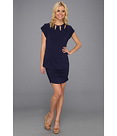 Laundry by Shelli Segal - Cut Out Cap Sleeve Dress