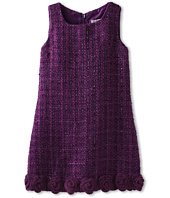 Us Angels - Sparkle Boucle Hem Detail Dress (Big Kids)