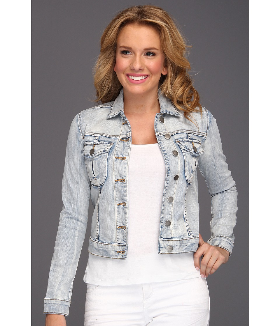 KUT from the Kloth Button Front Jacket W/ Pocket Sweet Womens Jacket