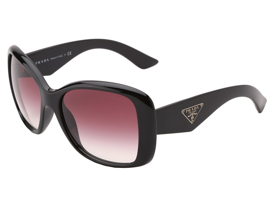 Prada PR 32PS Black/Violet Gradient Fashion Sunglasses
