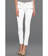 AG Adriano Goldschmied - Harlow Patch Pocket Zip in White