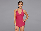Lole - Madeira One Piece Swimsuit (Sahari Guava/Solidate Blue) - Apparel<br />
