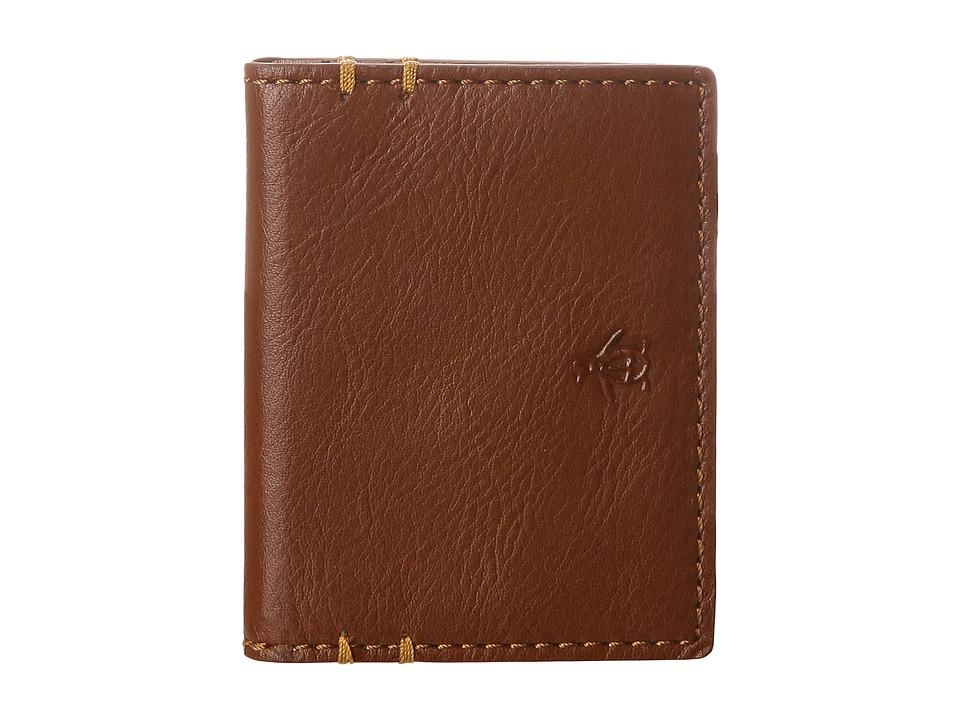 Original Penguin - Leather Wallet (Camel Caf ) Bi-fold Wallet
