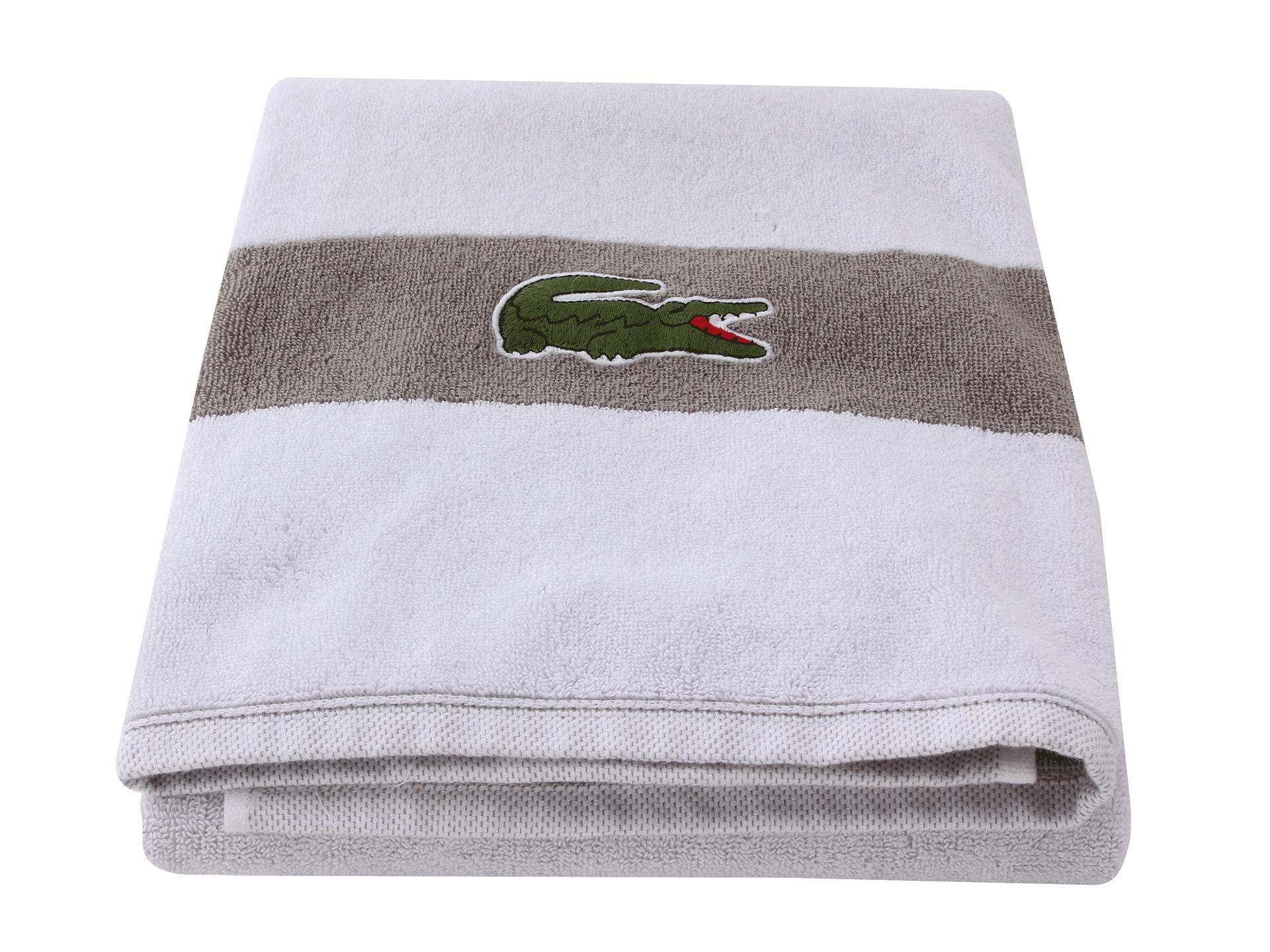 Lacoste Bathroom Accessories Lacoste Logo Bath Towel