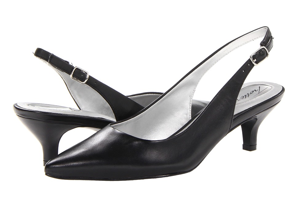 Trotters Prima (Black Leather) Women