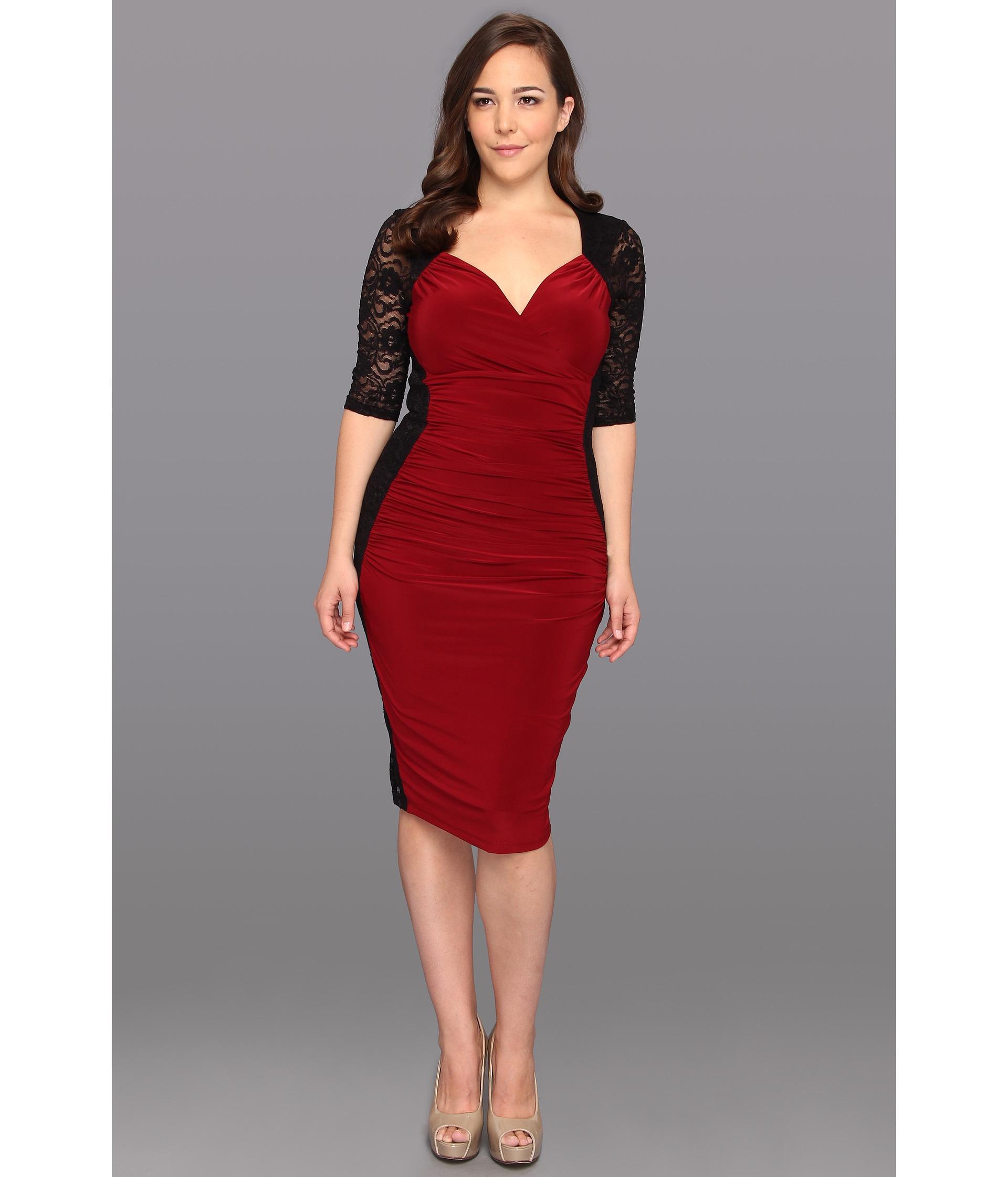 Kiyonna Valentina Illusion Dress