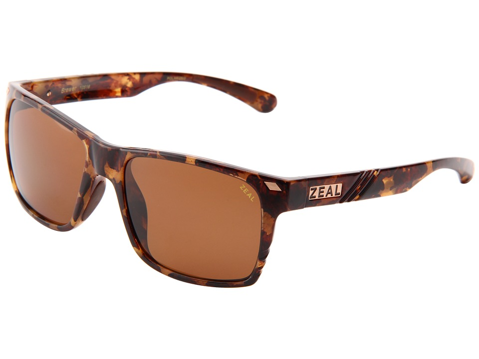 Zeal Optics Brewer Colorado Tortoise w/Cooper Polarized Lens Sport Sunglasses