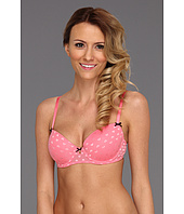 Betsey Johnson - Heart Mesh Balconette Bra 723500