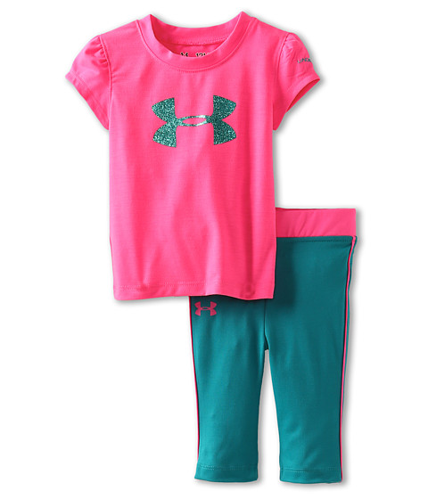 Under armour kids shatter icon tee set infant shipped for Under armour shirts for kids