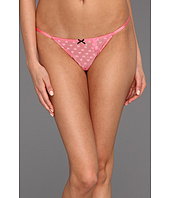 Betsey Johnson - Heart Mesh Thong
