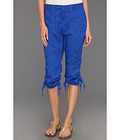 Jones New York - Twill Crop Pant w/ Ties