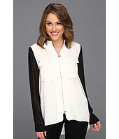 Kenneth Cole New York - Grecia Collard L/S Blouse