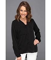 Kenneth Cole New York - Jordonna Collared L/S Button Up Blouse