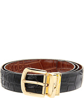 Florsheim - Reversible Croco Embossed Leather Belt