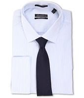 Kenneth Cole New York - Non-Iron Regular Fit Stripe French Cuff Dress Shirt