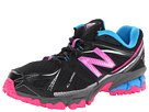 New Balance Kids 610v3 Little Kid, Big Kid Black, Pink Shoes
