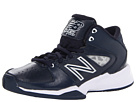 New Balance Kids 82 Little Kid, Big Kid Navy, White Shoes