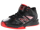 New Balance Kids 82 Little Kid, Big Kid Black, Red Shoes