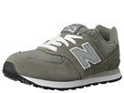 New Balance Kids 574 Little Kid Grey, Silver Shoes
