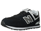 New Balance Kids 574 Little Kid Black, White Shoes