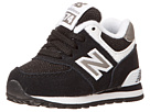 New Balance Kids KL574 Infant, Toddler Black, White1 Shoes
