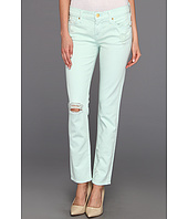 7 For All Mankind - The Slim Cigarette in Light Moss