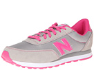 New Balance Kids 501 Little Kid, Big Kid Grey, Pink Shoes