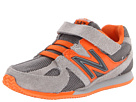New Balance Kids 543 Infant, Toddler Grey, Orange Shoes