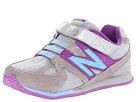 New Balance Kids 543 Infant, Toddler Silver, Purple Shoes
