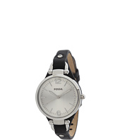 Fossil - ES3199 Georgia Three Hand Leather Watch