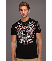 Affliction - Vibrant S/S Crew Tee w/ Taping