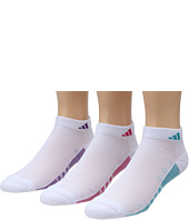 adidas - Women's Superlite ClimaCool II 3-Pair Low Cut Sock