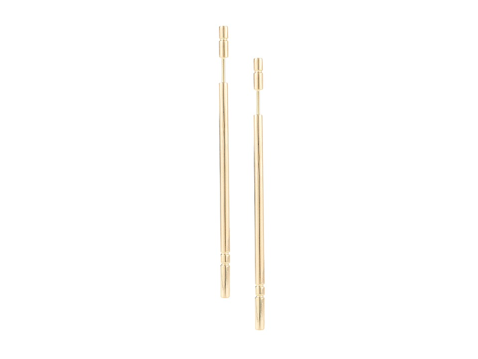 Elizabeth and James Berlin Linear Post Earring Gold Earring