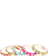Gypsy SOULE - Bright and Silver 5 Bangle Set