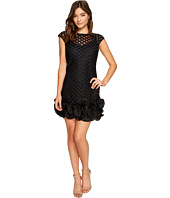 Jessica Simpson - S/S Lace Dress w/ Feather Hem