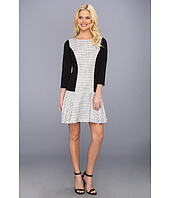 Jessica Simpson - 3/4 Sleeve Drop Waist Dress w/ Circle Skirt