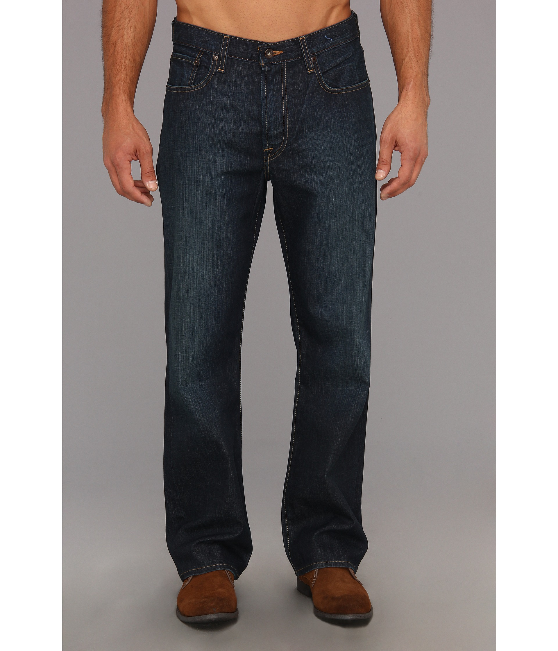Lucky Brand 181 Relaxed Straight 30 in Old Carriage Old Carriage